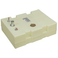 """PLASTIC BOAT BELOW DECK FUEL TANK-12 Gal Low, 24.5""""L x 18.5""""W x 7.25""""H"""