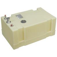 """PLASTIC BELOW DECK BOAT FUEL TANK-19 Gal, 26""""L x 16""""W x 11.75""""H"""