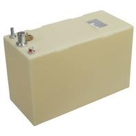 """PLASTIC BELOW DECK BOAT FUEL TANK-20 Gal, 26""""L x 11.75""""W x 16.25""""H"""