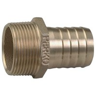 """BRONZE PIPE TO HOSE ADAPTER, 1-1/4"""" Pipe to 1-1/4"""" Hose, 2"""" L"""