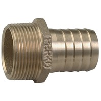 """BRONZE PIPE TO HOSE ADAPTER, 1-1/2"""" Pipe to 1-1/2"""" Hose, 2-1/4""""L"""