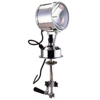 """SOLAR-RAY SEALED BEAM PILOT HOUSE CONTROL SEARCHLIGHT-7"""" Searchlight"""