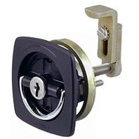 FLUSH LOCK & LATCH, Offset Adjustable Cam Bar & 2 Keys