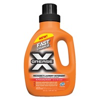 FAST ORANGE GREASE X  MECHANIC'S LAUNDRY DETERGENT-40 oz Liquid