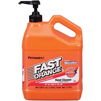 FAST ORANGE PUMICE LOTION HAND CLEANER-Fast Orange w/Pump, Gallon