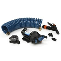 JABSCO WASHDOWN KIT WITH COIL HOSE, 4 GPM
