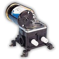 "JABSCO BELT DRIVE DIAPHRAGM BILGE PUMP, 3/4"" PORTS-, 12V, 5.5 GPM"