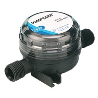 "JABSCO PUMPGARD  FINE MESH STRAINER-Inline, for 3/8"" ID hose"