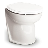 "JABSCO DELUXE FLUSH TOILET Replacement Bowl Only f/17"" Slant Back"