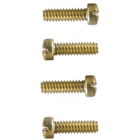 JABSCO QUIET FLUSH/STANDARD/COMPACT TOILET REPLACEMENT PARTS-Fillister HD Screw, 4 Pack