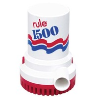 RULE 1500 GPH BILGE PUMP, Non-Automatic