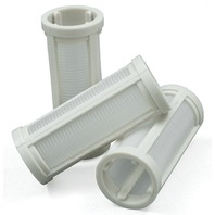 GLASS VIEW INLINE FUEL FILTER-3-Pack Replacement Filter Element w/Gaskets for 07109