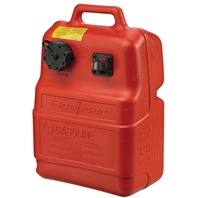 "OEM CHOICE PORTABLE FUEL TANK WITH GAUGE-6.6 gal, 21.5""L x 14.3""W x 9.3""H"