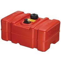 "PORTABLE FUEL TANK, EPA/CARB COMPLIANT 9 Gallon, 22.9""L x 14.3""W x 11.5""H"