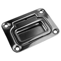 "SPRING LOADED FLUSH HATCH HAND-3"" x 2-1/4"", Uses #8 Fasteners"