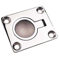 "CAST SS RING PULL-1-15/16"" x 1-9/16"", Uses #8 Fasteners"