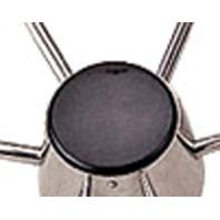 SS BOAT STEERING WHEEL-Black Plastic Replacement Cap