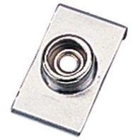 """STAINLESS STEEL WINDSHIELD CLIP, 3/4"""" Base, Set of 4"""