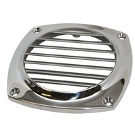 "STAINLESS STEEL FLUSH THRU VENT-Up to 3"" Hole Size"