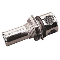 "SEADOG MARINE BOAT GAS TANK VENT, Chrome; max 1"" hull thickness"