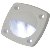 LED UTILITY LIGHT-White finish, White LED