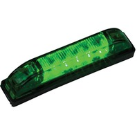 "LED STRIP LIGHTS-3-15/16"" x 3/4"", Green LEDs"