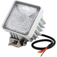 "LED SQUARE FLOOD LIGHT-4""W x 5""H x 3-1/2""D, White"