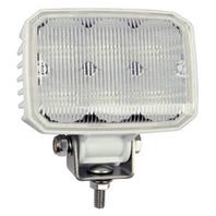 "LED RECTANGULAR FLOOD LLIGHT-4-5/16""W x 4-1/8""H x 2""D, White"