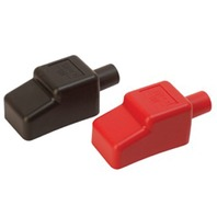 "BATTERY TERMINAL COVERS, SEADOG-For 5/8"" Cable, Red/Black Pair"