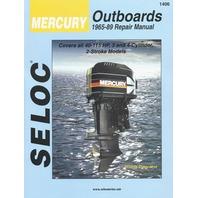 SIERRA SELOC MARINE ENGINE REPAIR MANUALS, MERCURY/MARINER-Mercury 1965-89,  40-115 Hp, 3 & 4-cylinder, 2-stroke