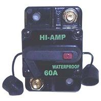 CB60000-1 WATERPROOF HIGH AMPERAGE CIRCUIT BREAKER, 60 AMP