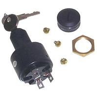 ELECTRONIC IGNITION SWITCH, 3-POSITION WITH CAP-Off-Run-Start Switch w/Cap