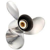 TITAN (D) Stainless 13.3 X 19 Propeller for MERCURY/MARINER/HONDA 40-140 HP