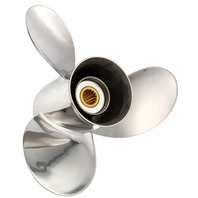 TITAN (E) Stainless 15.5 X 15 Propeller for MERCURY/MERCRUISER/HONDA 135-300 HP
