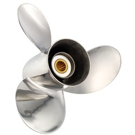 TITAN (F) Stainless 17.5 X 23 Propeller for Mercruiser Bravo II Stern Drives