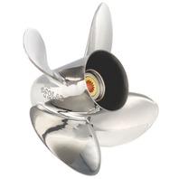 HR TITAN4 (D) Stainless 4-Blade 13 X 17 Propeller for YAMAHA/NISSAN/TOHATSU 60-140HP