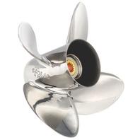 HR TITAN4 (D) Stainless 4-Blade 13 X 19 Propeller for YAMAHA/NISSAN/TOHATSU 60-140HP