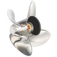 HR TITAN4 (E) Stainless 4-Blade 14.3 X 17 Propeller for Yamaha 150-300HP