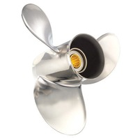 SATURN (A) SST 9.3 X 12 Pitch Propeller for BRP/JOHNSON/SUZUKI 9.9-15 HP Outboards
