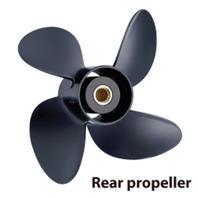 VOLVO PENTA DUAL PROP, ALUMINUM-13.8 X 19 Rear, 4 Blade Propeller