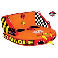 "BIG MABLE MULTIPLE POSITION TOWABLE-Big Mable Tube, 2-Rider, 68"" x 68"""