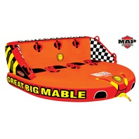 GREAT BIG MABLE MULTI-POSITION TOWABLE-Great Big Mable Tube, 4-Rider
