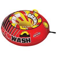 SPORTSSTUFF  BRAINWASH TUBE KIT-Brainwash Tube w/Pump & Tow Rope, 1 Rider