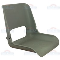 SKIPPER FOLD DOWN CHAIR SHELL-Molded Seat Shell Only, Gray