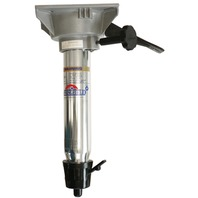"""TAPER-LOCK  FIXED HEIGHT POST WITH LOCKING SWIVEL-13"""" Post"""