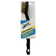 Star Brite Detail Brush, Plastic Handle w/Brass Bristles