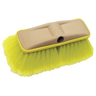 """8"""" DELUXE BLOCK BRUSH WITH BUMPER-Wash Brush, Soft w/Flagged Ends (Yellow)"""