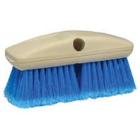 "8"" STANDARD WASH BRUSH-Standard Brush, Medium w/Flagged Ends (Blue)"