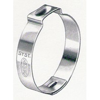 """OETIKER  HOSE CLAMPS 100 PACK 140R 35/64"""" Dia."""
