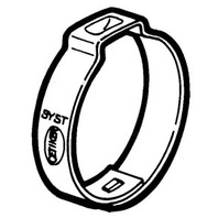 """OETIKER  HOSE CLAMPS 100 PACK-157R 5/8"""" Dia."""
